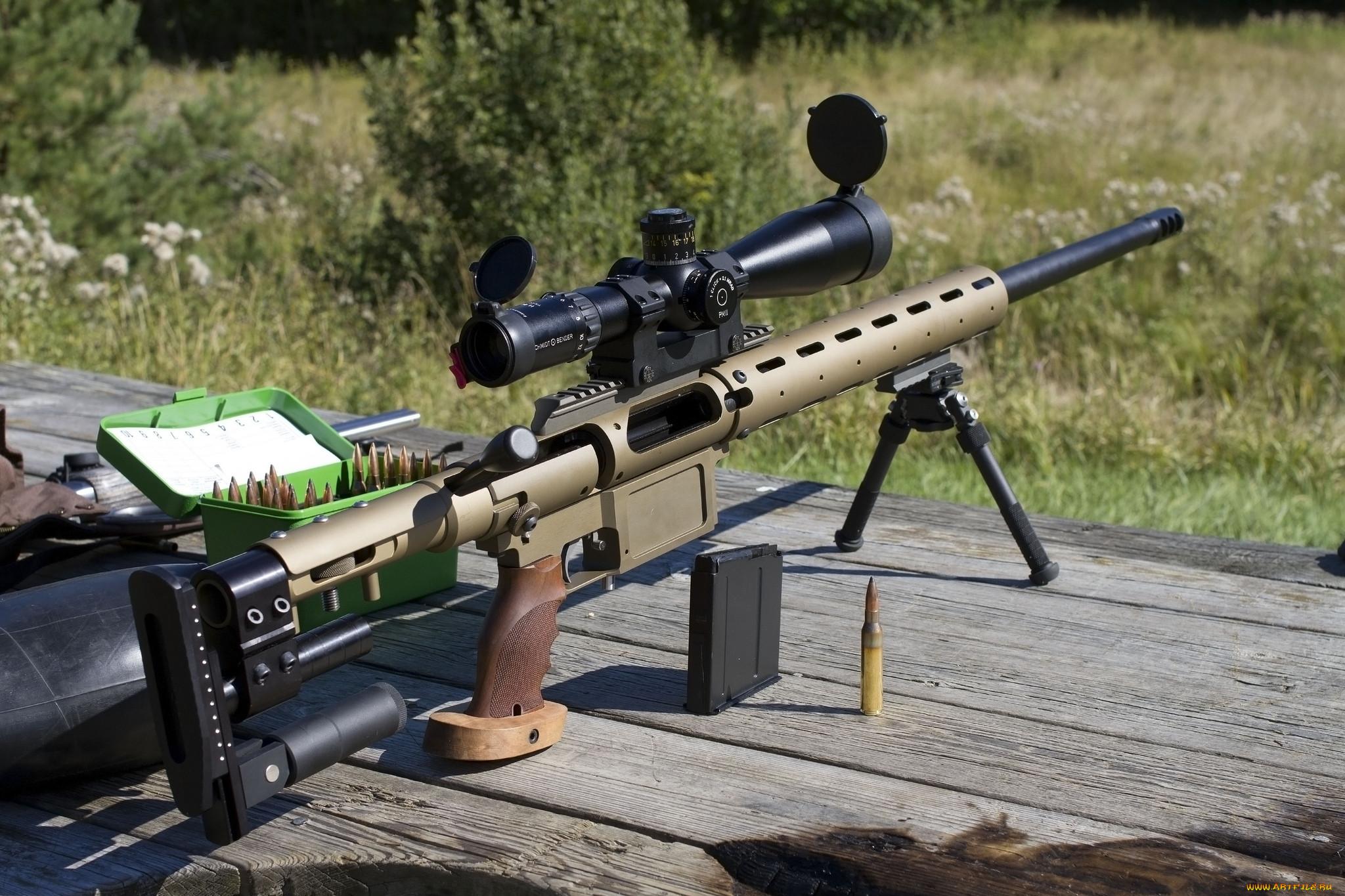 Фото снайперских винтовок всего мира